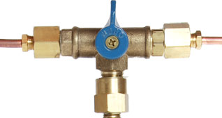 Manual changeover switch valves